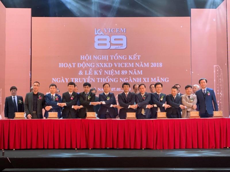 Tổng công ty Công nghiệp Xi măng Việt Nam Tổng kết hoạt động Sản xuất Kinh doanh và Kỷ niệm 89 năm ngày truyền thống ngành Xi măng