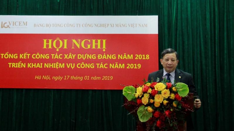 Đảng bộ VICEM: Đoàn kết, quyết liệt, đột phá trong năm 2019