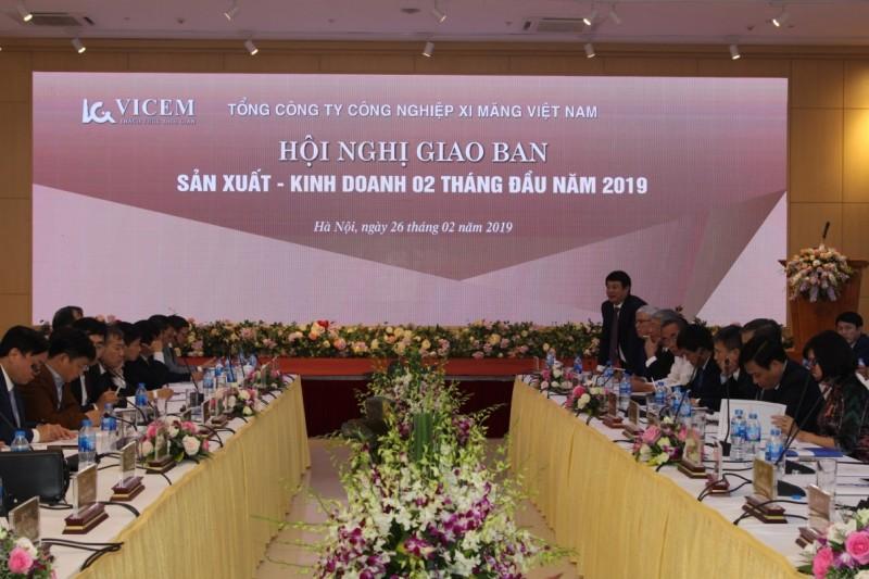 Tổng công ty Công nghiệp Xi măng Việt Nam tổ chức Báo công dâng Bác và Giao ban Sản xuất Kinh doanh  2 tháng đầu năm 2019
