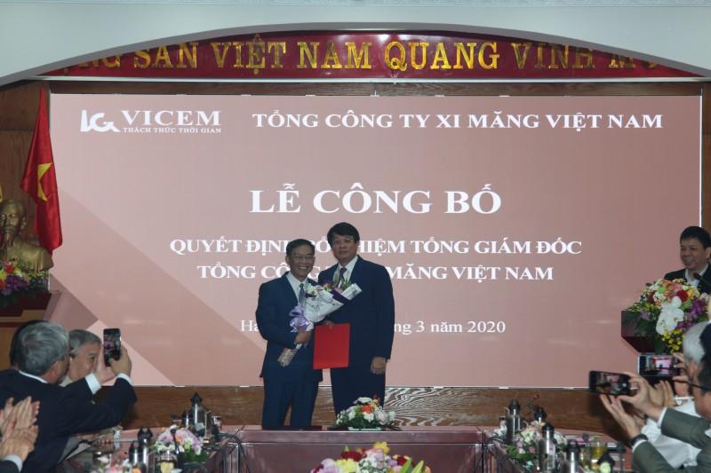 Đồng chí Lê Nam Khánh – Thành viên Hội đồng Thành viên VICEM được bổ nhiệm giữ chức vụ Tổng Giám đốc VICEM.