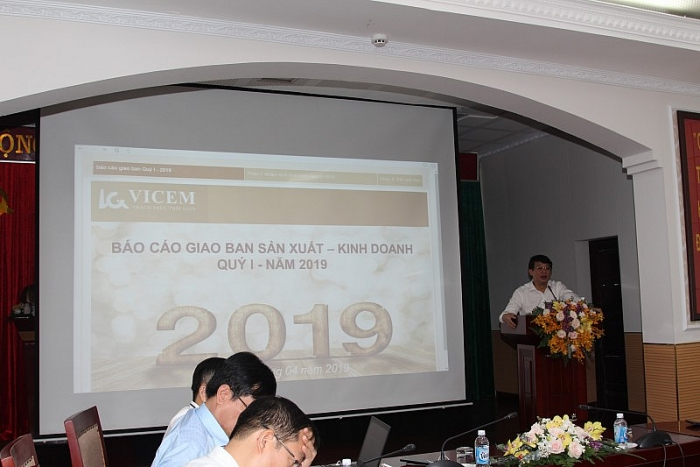tong cong ty cong nghiep xi mang viet nam hoan thanh tot nhiem vu san xuat kinh doanh quy i nam 2019
