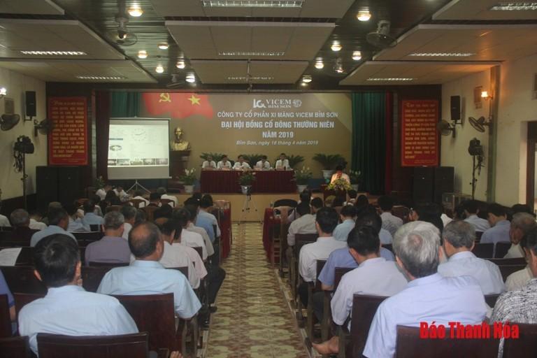 Xi măng Bỉm Sơn tổ chức Đại hội đồng cổ đông thường niên năm 2019
