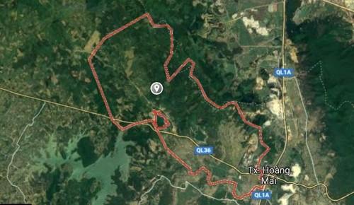 Thống nhất lựa chọn địa điểm triển khai dự án Xi măng Hoàng Mai 2