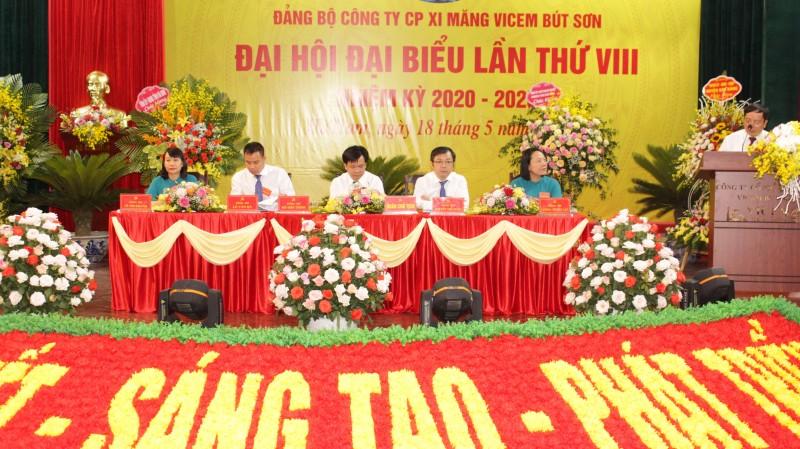 Đại hội đại biểu Đảng bộ Công ty Xi măng VICEM Bút Sơn