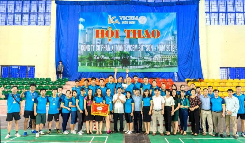 CÔNG TY CP XI MĂNG VICEM BÚT SƠN TỔ CHỨC HỘI THAO NĂM 2019