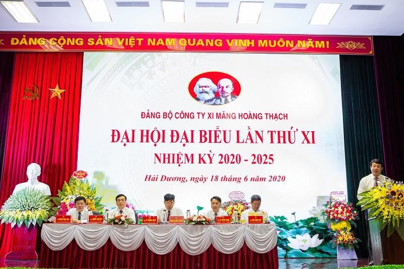 Đại hội Đại biểu Đảng bộ Công ty Xi măng VICEM Hoàng Thạch lần thứ XI, nhiệm kỳ 2020 – 2025.