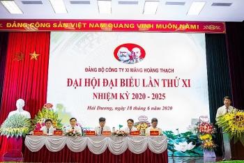 dai hoi dai bieu dang bo cong ty xi mang vicem hoang thach lan thu xi nhiem ky 2020 2025