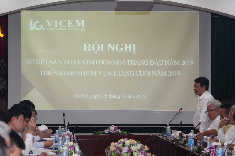 Tổng công ty Công nghiệp Xi măng Việt Nam tổ chức hội nghị sơ kết Sản xuất kinh doanh 6 tháng đầu năm 2019 và triển khai nhiệm vụ 6 tháng cuối năm