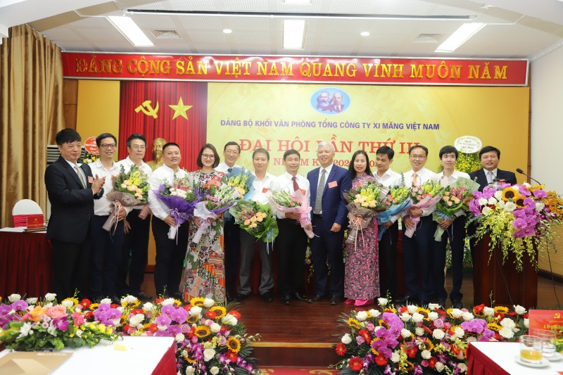Đại hội Đảng bộ Khối Văn phòng Tổng công ty Xi măng Việt Nam lần thứ III, nhiệm kỳ 2020 - 2025