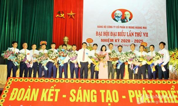 Đại hội Đảng bộ Công ty Xi măng VICEM Hoàng Mai