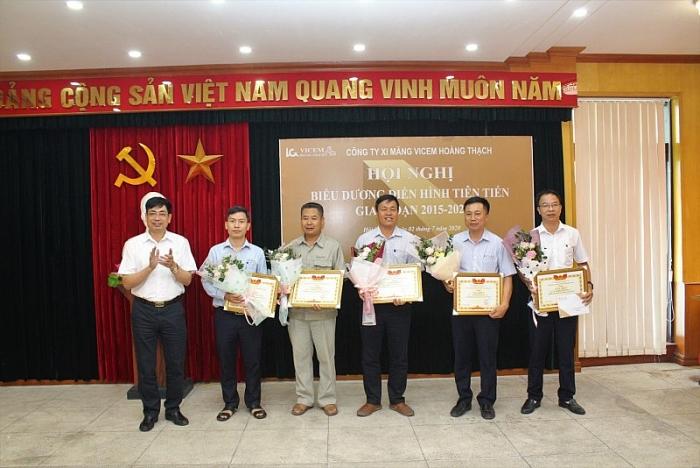hoi nghi bieu duong dien hinh tien tien xi mang vicem hoang thach giai doan 2015 2020
