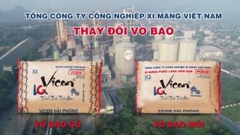 Vỏ bao Xi măng mới của VICEM