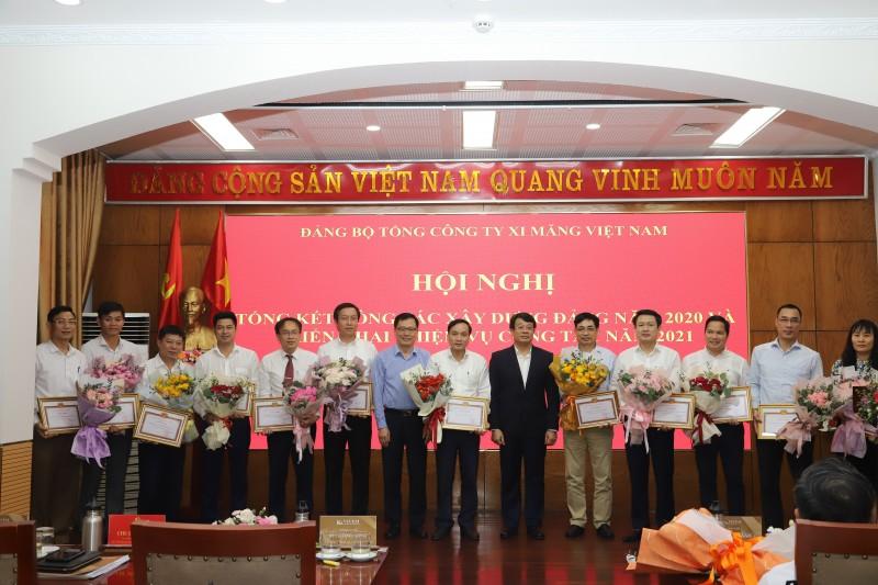 Đảng bộ Tổng công ty Xi măng Việt Nam tổng kết công tác xây dựng Đảng 2020