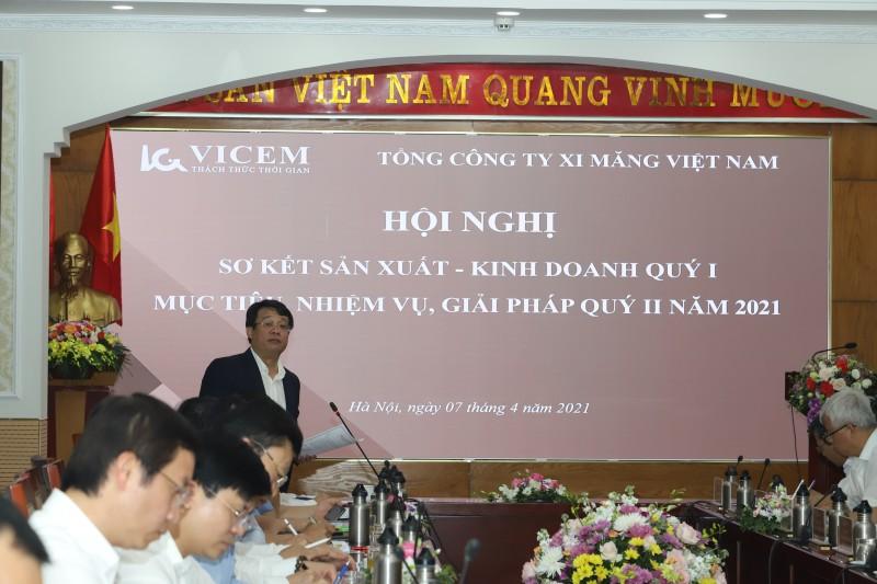 Hội nghị Sơ kết sản xuất kinh doanh quý I/2021 của Tổng công ty Xi măng Việt Nam