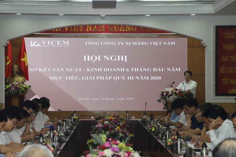 VICEM  sơ kết Sản xuất kinh doanh 6 tháng đầu năm 2020