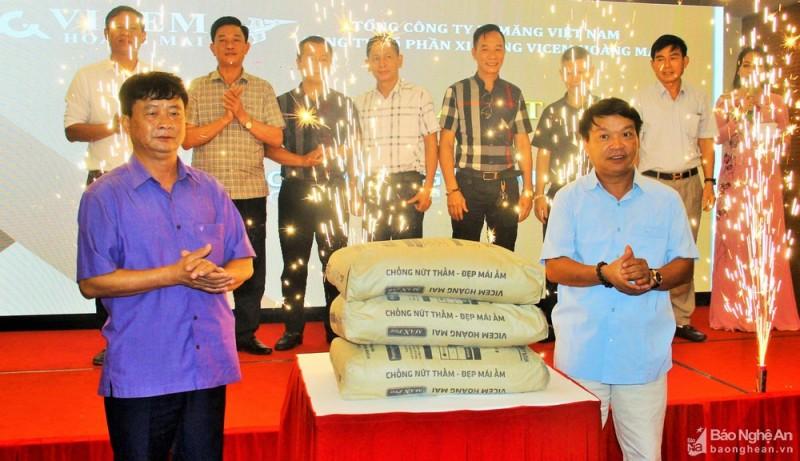 Ra mắt sản phẩm mới xi măng MAXPRO Vicem Hoàng Mai