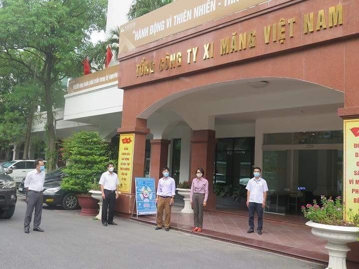 Thường trực HĐND quận Đống Đa giám sát việc thực hiện Chỉ thị 17/CT-UBND tại Tổng công ty Xi măng Việt Nam