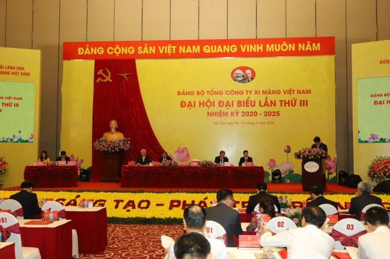 Chương trình hành động thực hiện Nghị quyết Đại hội Đảng bộ Tổng công ty Xi măng Việt Nam lần thứ III, nhiệm kỳ 2020-2025
