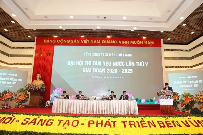 dai hoi thi dua yeu nuoc tong cong ty xi mang viet nam 1500