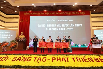 dai hoi thi dua yeu nuoc tong cong ty xi mang viet nam