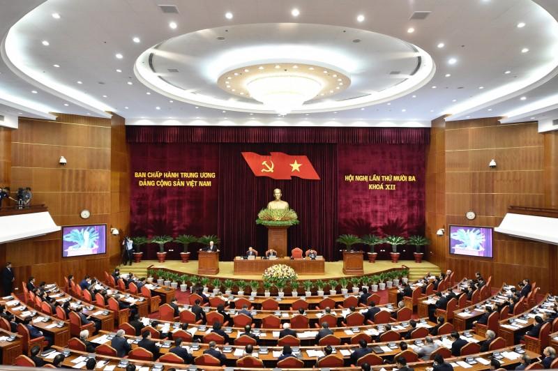 Công bố, thảo luận, lấy ý kiến nhân dân vào dự thảo các Văn kiện trình Đại hội XIII của Đảng
