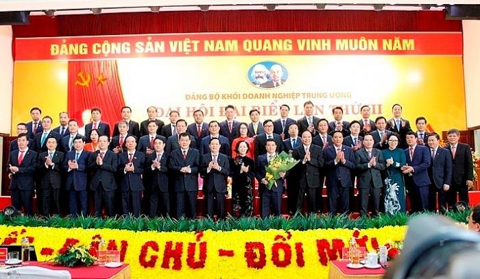 dai hoi dai bieu dang bo khoi doanh nghiep trung uong lan thu iii nhiem ky 2020 2025 thanh cong tot dep