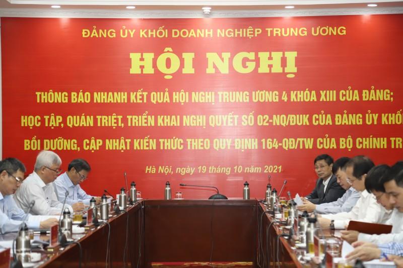 Đảng bộ VICEM tham dự Hội nghị Thông báo nhanh kết quả Hội nghị Trung ương 4, khóa XIII của Đảng.