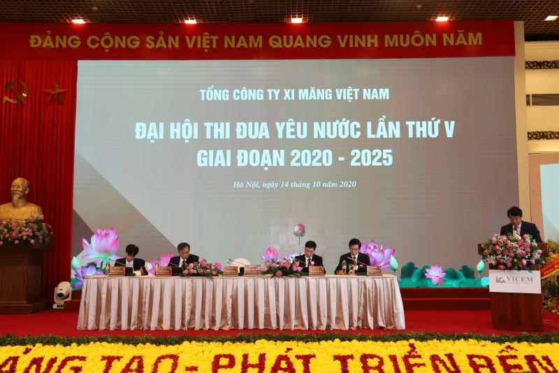 Đại hội Thi đua yêu nước Tổng công ty Xi măng Việt Nam lần thứ V, giai đoạn 2020-2025